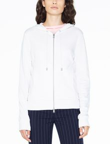 ARMANI EXCHANGE A|X ALLOVER LOGO ZIP-UP Fleece Jacket D f