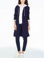ARMANI EXCHANGE A|X ALLOVER LOGO ZIP-UP Fleece Jacket D a