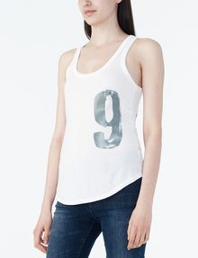 ARMANI EXCHANGE 91 LOGO TANK Tank top D d