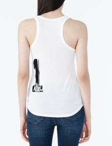ARMANI EXCHANGE 91 LOGO TANK Logo Tanks Woman r