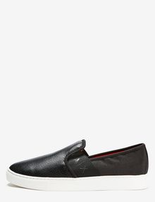 ARMANI EXCHANGE PERFORATED LOGO SLIP-ON Shoe U f
