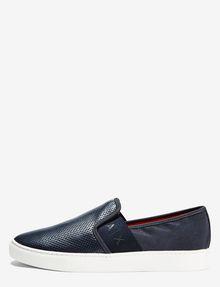 ARMANI EXCHANGE PERFORATED LOGO SLIP-ON Shoe U f