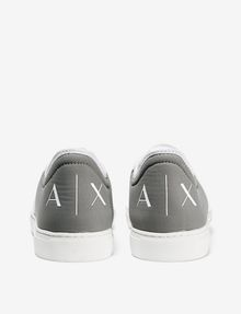 ARMANI EXCHANGE LACE-UP MIXED MEDIA SNEAKER Shoe U d