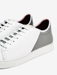 ARMANI EXCHANGE LACE-UP MIXED MEDIA SNEAKER Sneakers U e