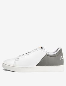 ARMANI EXCHANGE LACE-UP MIXED MEDIA SNEAKER Sneakers U f