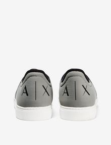 ARMANI EXCHANGE LACE-UP MIXED MEDIA SNEAKER Sneakers U d