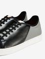 ARMANI EXCHANGE LACE-UP MIXED MEDIA SNEAKER Shoe Man e