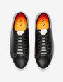 ARMANI EXCHANGE LACE-UP MIXED MEDIA SNEAKER Shoe Man r