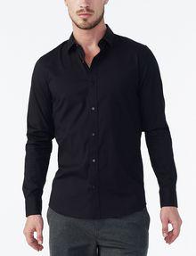 ARMANI EXCHANGE SLIM STRETCH SNAP SHIRT Long sleeve shirt Man f