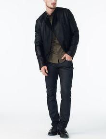 ARMANI EXCHANGE SLIM STRETCH SOLID SHIRT Long sleeve shirt U a