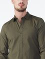 ARMANI EXCHANGE SLIM STRETCH SOLID SHIRT Long sleeve shirt Man e