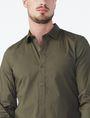 ARMANI EXCHANGE SLIM STRETCH SOLID SHIRT Long sleeve shirt U e