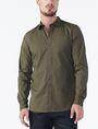 ARMANI EXCHANGE SLIM STRETCH SOLID SHIRT Long sleeve shirt Man f