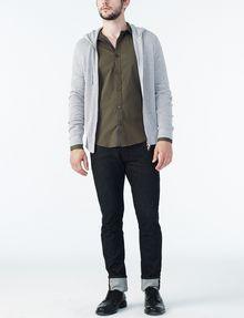 ARMANI EXCHANGE STRIPED PLACKET SUPER SLIM SHIRT Long sleeve shirt U a