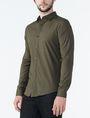 ARMANI EXCHANGE STRIPED PLACKET SUPER SLIM SHIRT Long sleeve shirt Man d