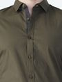 ARMANI EXCHANGE STRIPED PLACKET SUPER SLIM SHIRT Long sleeve shirt Man e