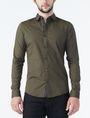 ARMANI EXCHANGE STRIPED PLACKET SUPER SLIM SHIRT Long sleeve shirt Man f
