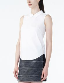 ARMANI EXCHANGE POPLIN SLEEVELESS SHIRT S/L Woven Top D d