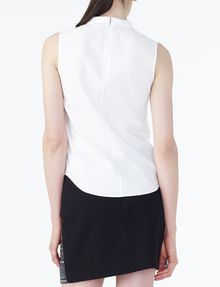 ARMANI EXCHANGE POPLIN SLEEVELESS SHIRT S/L Woven Top D r