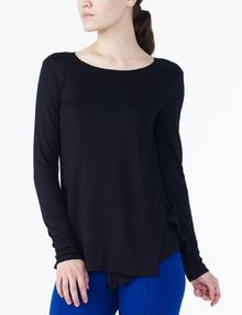 ARMANI EXCHANGE CROSSCROSS LAYERING TOP L/S Knit Top D f