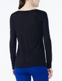 ARMANI EXCHANGE CROSSCROSS LAYERING TOP L/S Knit Top D r