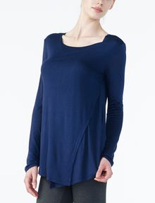 ARMANI EXCHANGE CROSSCROSS LAYERING TOP L/S Knit Top Woman d