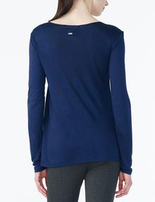 ARMANI EXCHANGE CROSSCROSS LAYERING TOP L/S Knit Top Woman r