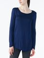 ARMANI EXCHANGE CROSSCROSS LAYERING TOP L/S Knit Top Woman f
