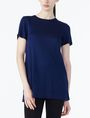 ARMANI EXCHANGE WRAP-BACK KNIT TOP S/S Knit Top Woman f