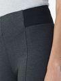 ARMANI EXCHANGE INSET ELASTIC PONTE LEGGING Legging Woman e