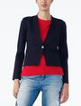 ARMANI EXCHANGE PONTE CLEAN CROPPED BLAZER Blazer Woman f
