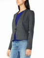 ARMANI EXCHANGE PONTE CLEAN CROPPED BLAZER Blazer Woman d