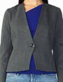 ARMANI EXCHANGE PONTE CLEAN CROPPED BLAZER Blazer Woman e