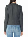 ARMANI EXCHANGE PONTE CLEAN CROPPED BLAZER Blazer Woman r