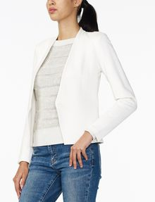 ARMANI EXCHANGE PONTE CLEAN CROPPED BLAZER Blazer D d