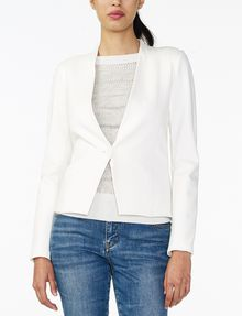 ARMANI EXCHANGE PONTE CLEAN CROPPED BLAZER Blazer D f