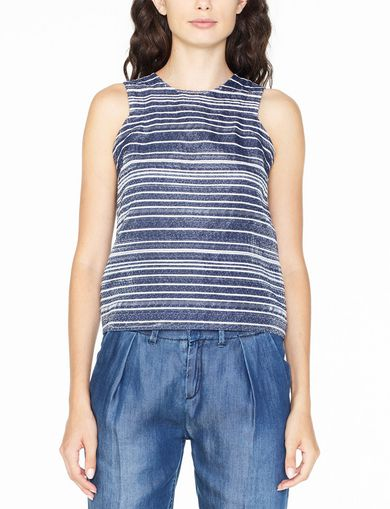 ARMANI EXCHANGE JACQUARD FRONT SHELL Woman front