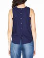 ARMANI EXCHANGE JACQUARD FRONT SHELL S/L Woven Top D r