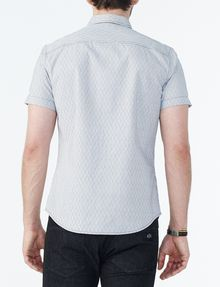 ARMANI EXCHANGE SHORT-SLEEVE DOT JACQUARD SHIRT Short sleeve shirt U r
