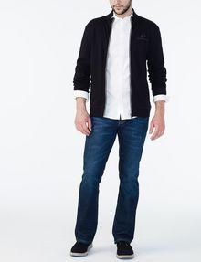 ARMANI EXCHANGE COVERED PLACKET SUPER SLIM SHIRT Long sleeve shirt U a