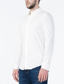 ARMANI EXCHANGE COVERED PLACKET SUPER SLIM SHIRT Long sleeve shirt Man d