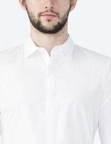 ARMANI EXCHANGE COVERED PLACKET SUPER SLIM SHIRT Long sleeve shirt U e