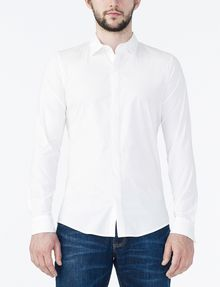 ARMANI EXCHANGE COVERED PLACKET SUPER SLIM SHIRT Long sleeve shirt Man f