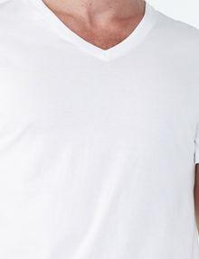 ARMANI EXCHANGE PIMA V-NECK Short Sleeve Tee U e