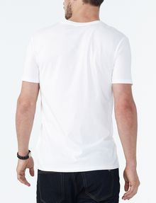 ARMANI EXCHANGE PIMA V-NECK Short Sleeve Tee U r