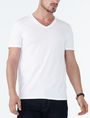 ARMANI EXCHANGE PIMA V-NECK Pima Tee U f