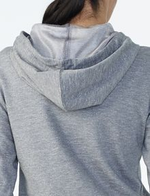 ARMANI EXCHANGE RUBBER LOGO ZIP-UP HOODIE Hoodie D e