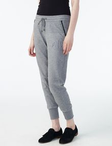 ARMANI EXCHANGE RUBBER LOGO SWEATPANT Fleece Pant Woman d