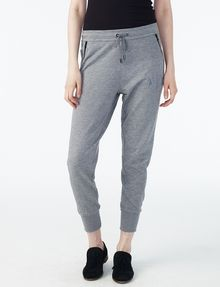 ARMANI EXCHANGE RUBBER LOGO SWEATPANT Fleece Pant Woman f
