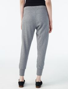 ARMANI EXCHANGE RUBBER LOGO SWEATPANT Fleece Pant Woman r